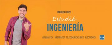 Estudiá Ingeniería. Ingreso 2021.